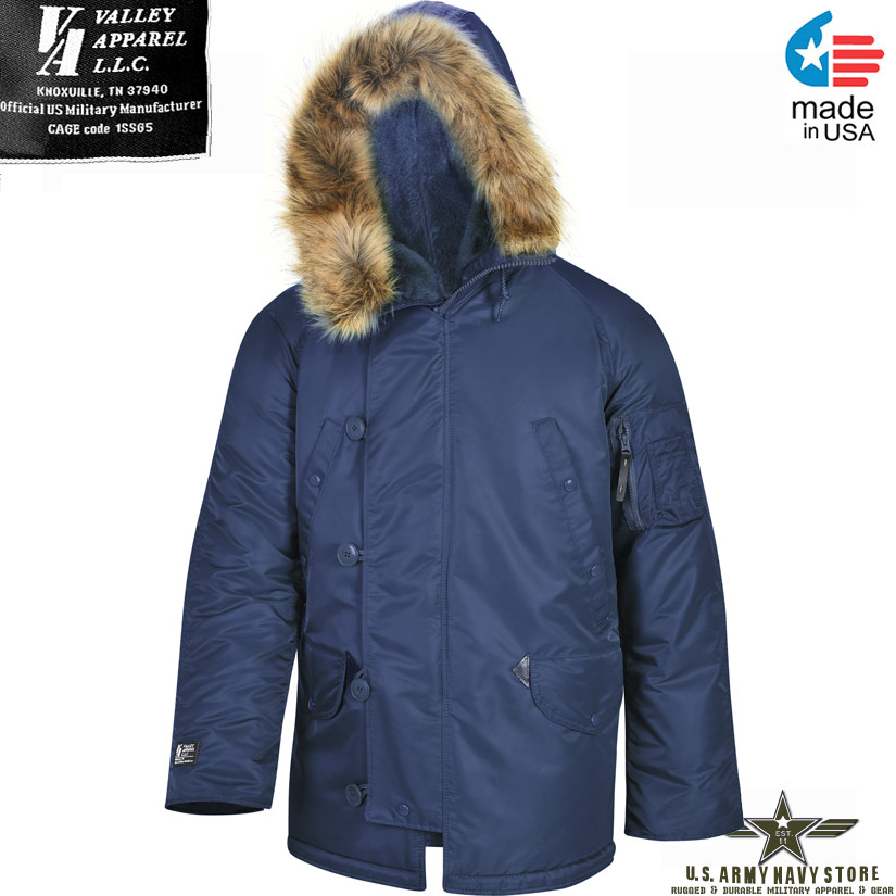 07932a9e2ff Valley Apparel N-3B Snorkel Parka   Made in USA