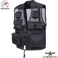 Tactical Recon Vest - Black