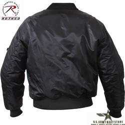 MA-1 Flight Jacket - Black