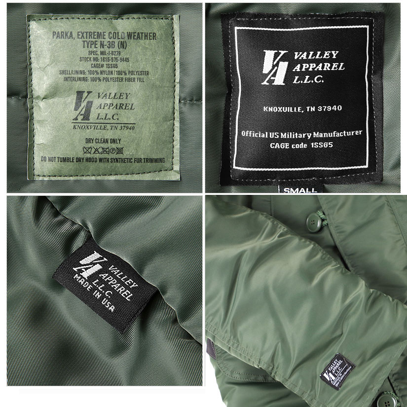 Valley Apparel N3B / Sage Green