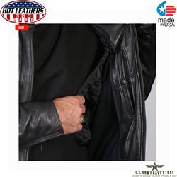 Hot Leathers USA Motorcycle Jacket