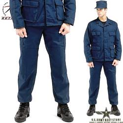 Rip-Stop BDU Pants - Navy Blue