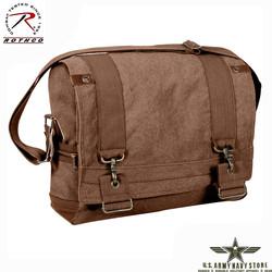 Vintage B-15 Messenger Bag - Brown