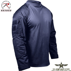 Military Combat Shirt - Navy Blue