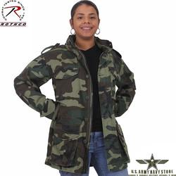 Camo Lightweight Vintage M-65 Jacket