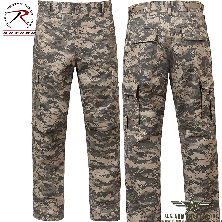 Poly/Cotton Twill BDU Pants - ACU