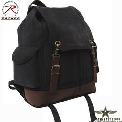 Vintage Expedition Rucksack - Black