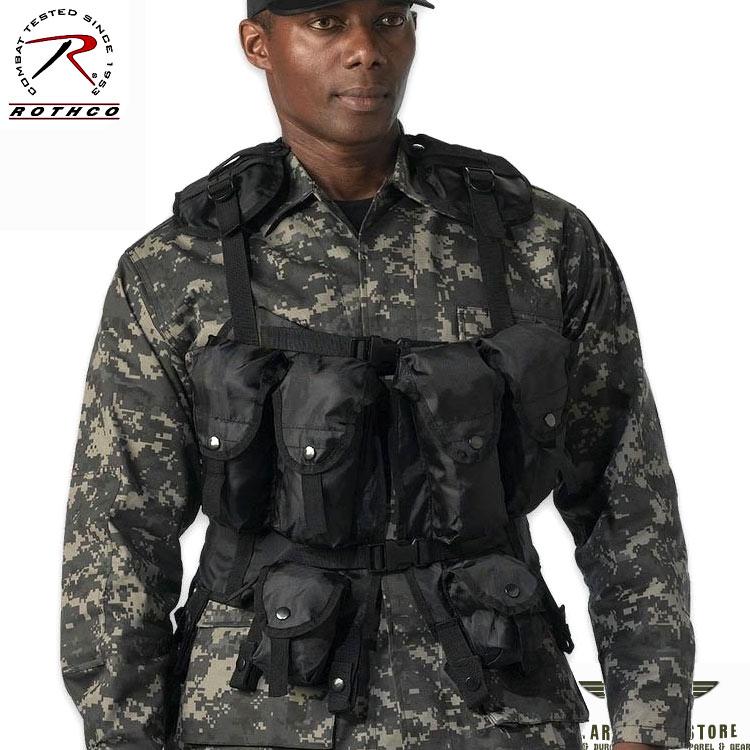Tactical Assault Vest - Black