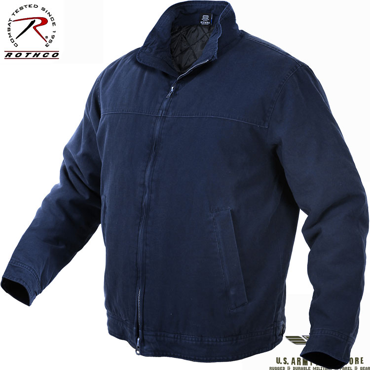 Concealed Carry Jacket - Navy Blue