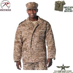 Desert Digital Camo M65 Field Jacket