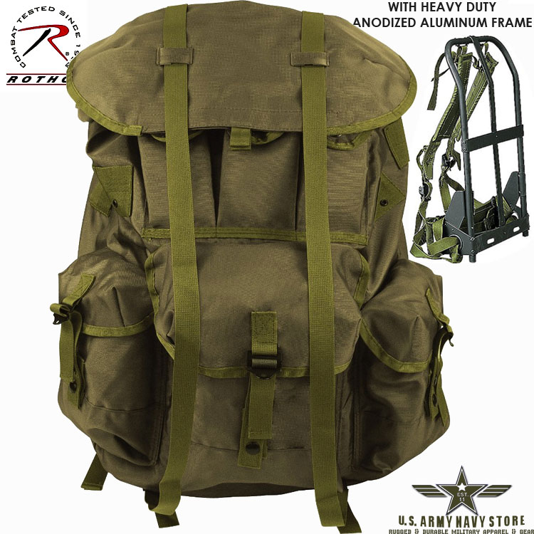 G.I. Type Olive Drab ALICE Pack