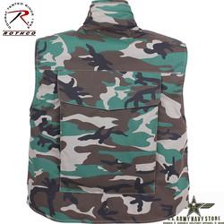 Ranger Vest w/Hood – Woodland Camo