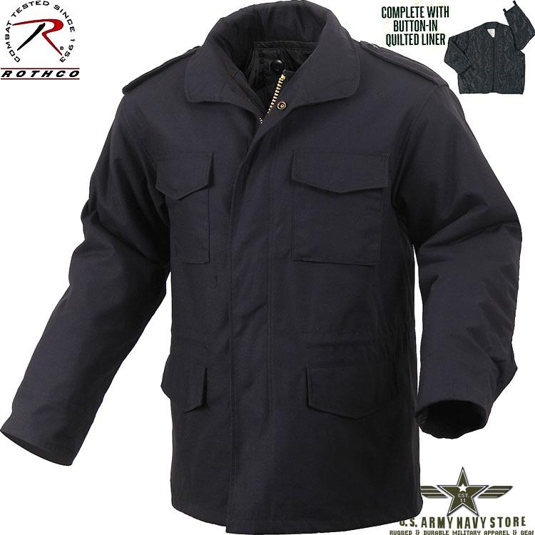 Ultra Force Black M-65 Field Jacket