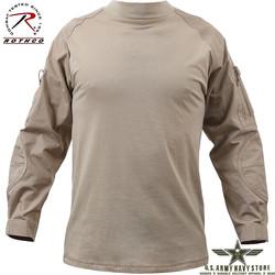 Military Combat Shirt - Desert Sand