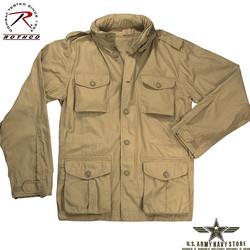 Khaki Lightweight Vintage M-65 Jacke