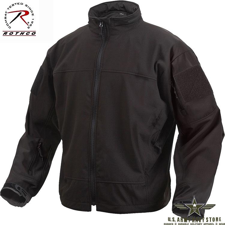 Lightweight Softshell Jacket - Black