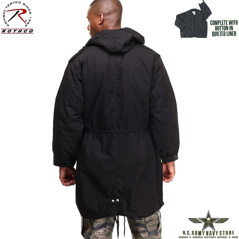 M-51 Fishtail Parka - Black
