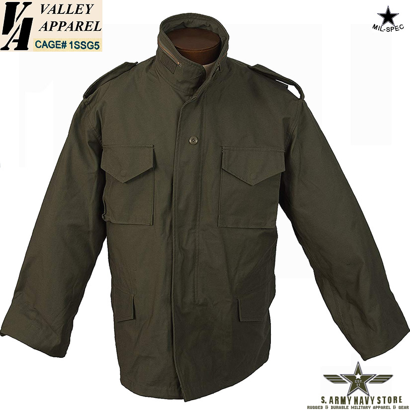 Valley Apparel M-65 / Olive Green