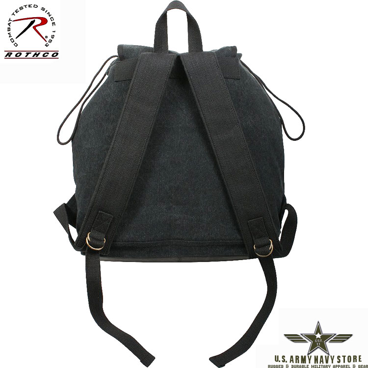 Vintage Canvas Wayfarer Backpack