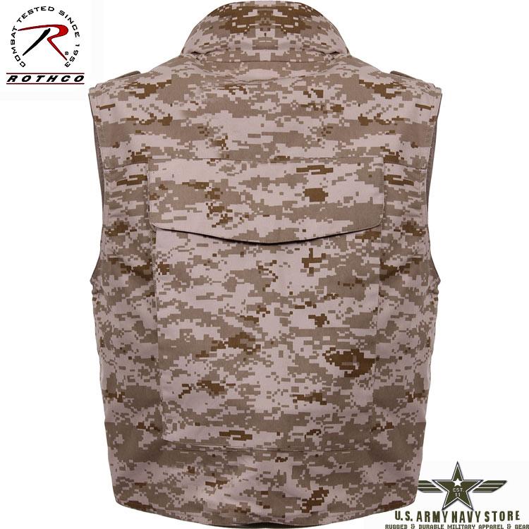 Ranger Vest w/Hood – Desert Digital
