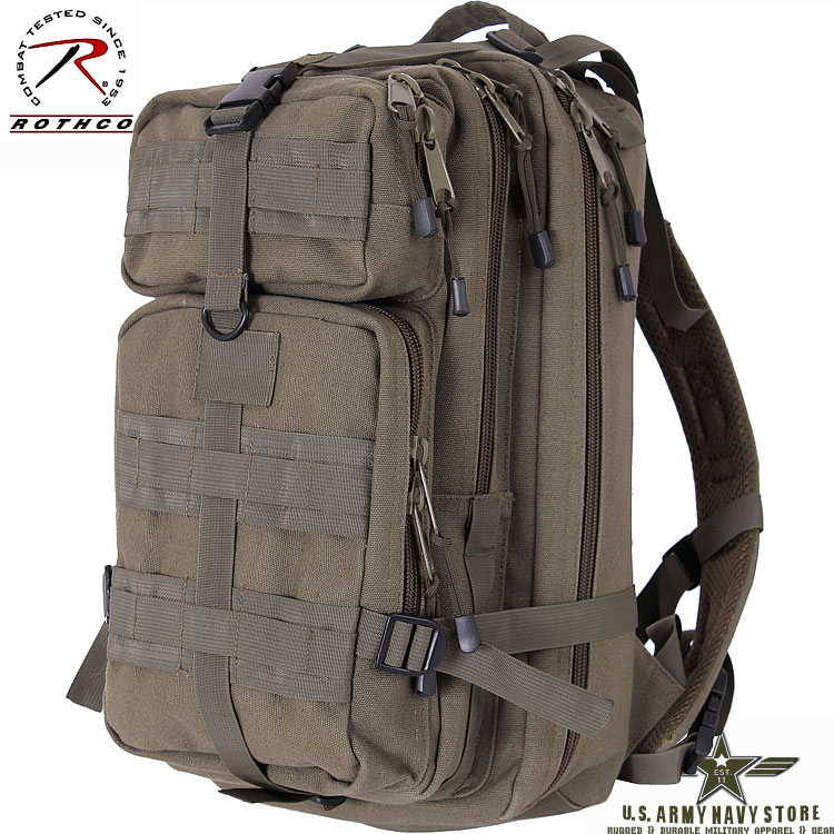 Tacticanvas Go Pack - Olive Drab