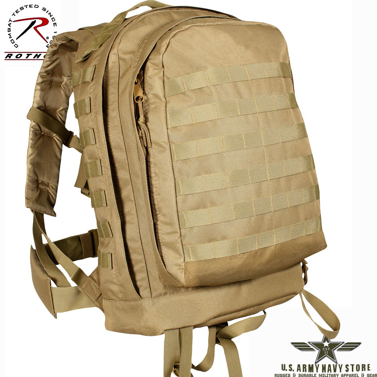 MOLLE II 3-Day Assault Pack - Coyote