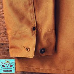 LC King Brown Duck Chore Coat