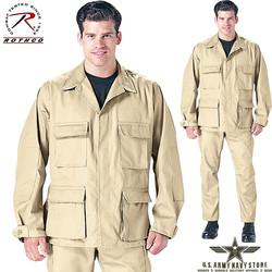 Rip-Stop BDU Shirt - Khaki