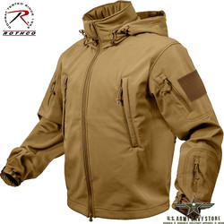 Softshell Jacket - Coyote Brown