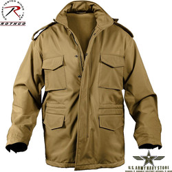 Soft Shell M-65 Jacket - Coyote Brow