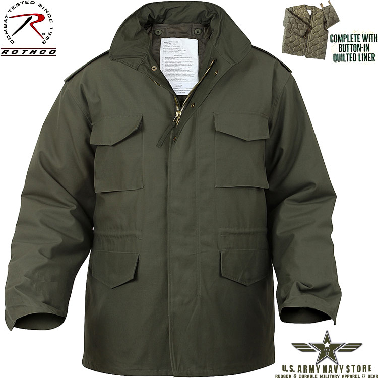 Ultra Force OD M-65 Field Jacket
