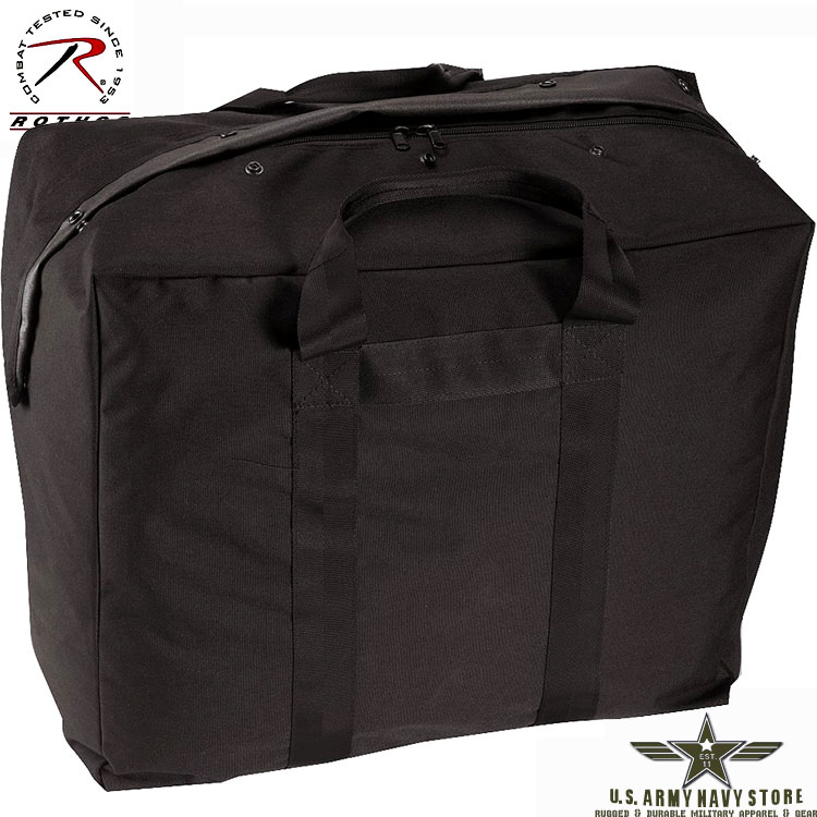 Enhanced Aviator Kit Bag – Black