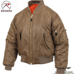 MA-1 Flight Jacket - Coyote Brown