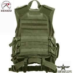 Cross Draw MOLLE Tactical Vest