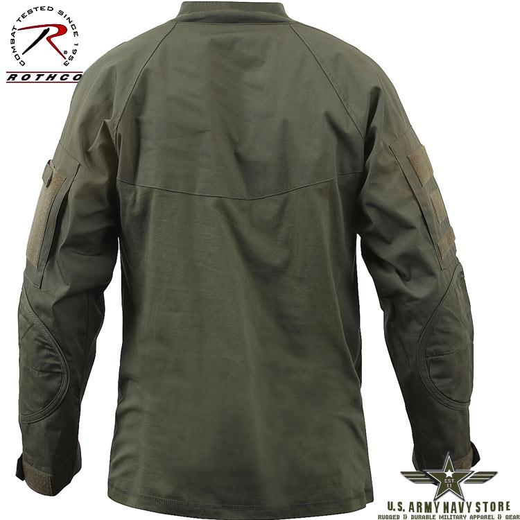 Military Combat Shirt - Olive Drab