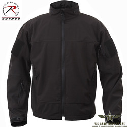 Lightweight Softshell Jacket - Black