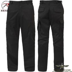 Rip-Stop BDU Pants - Black