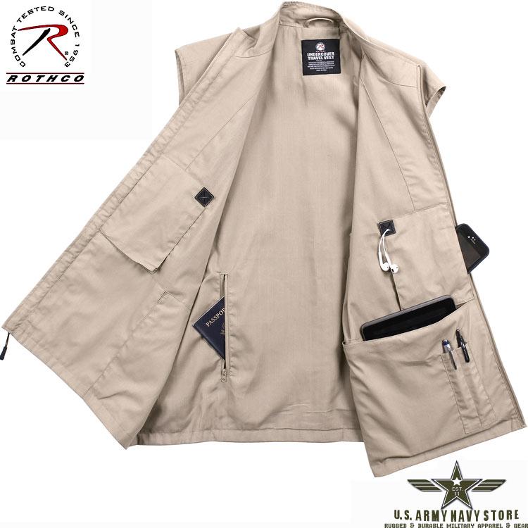 Tactical Undercover Travel Vest