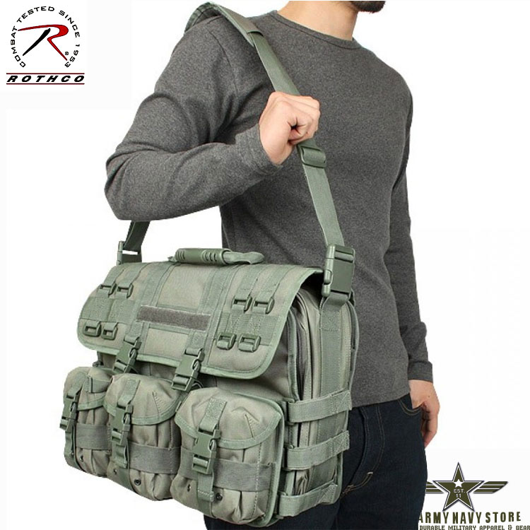 MOLLE Laptop Bag - Foliage Green
