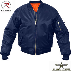 MA-1 Flight Jacket - Navy Blue