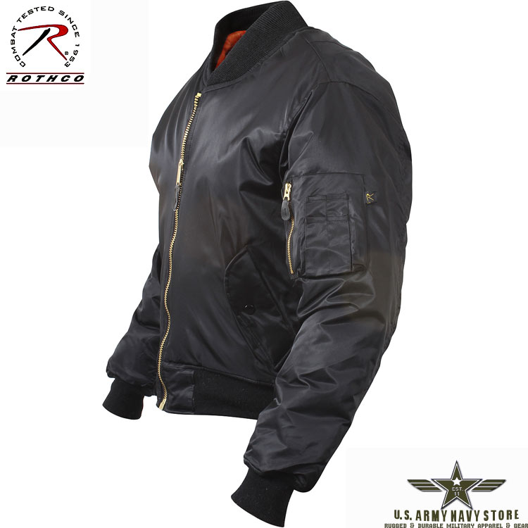 Concealed Carry MA-1 Flight Jacket