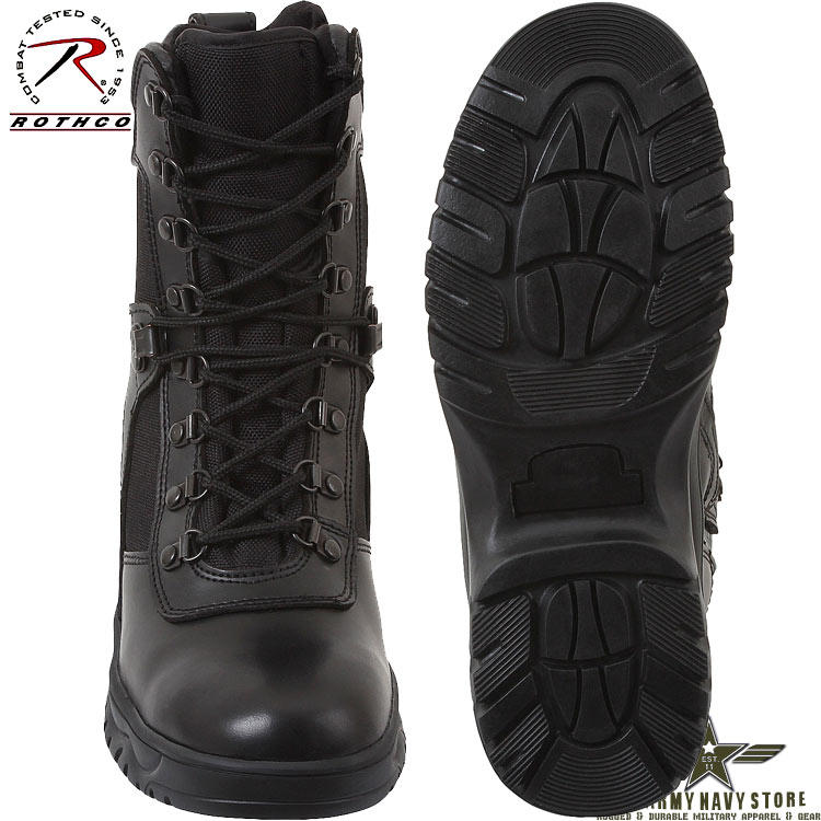 Forced Entry Tactical Boots w/Zipper