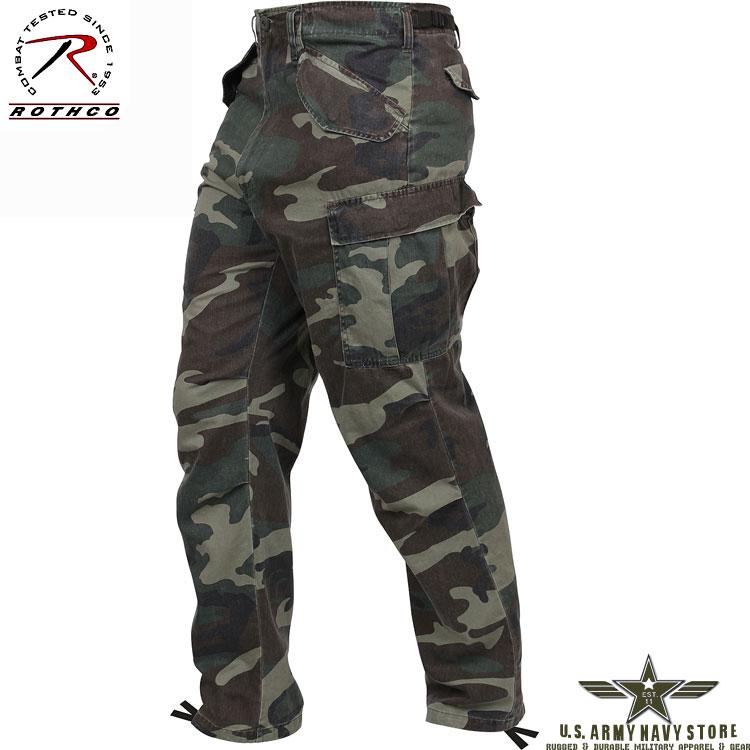 Vintage M-65 Field Pants - Woodland
