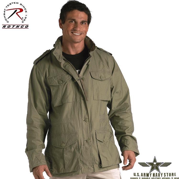 Sage Lightweight Vintage M-65 Jacket