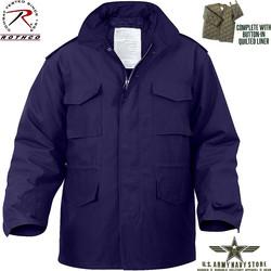 Navy Blue M-65 Field Jacket