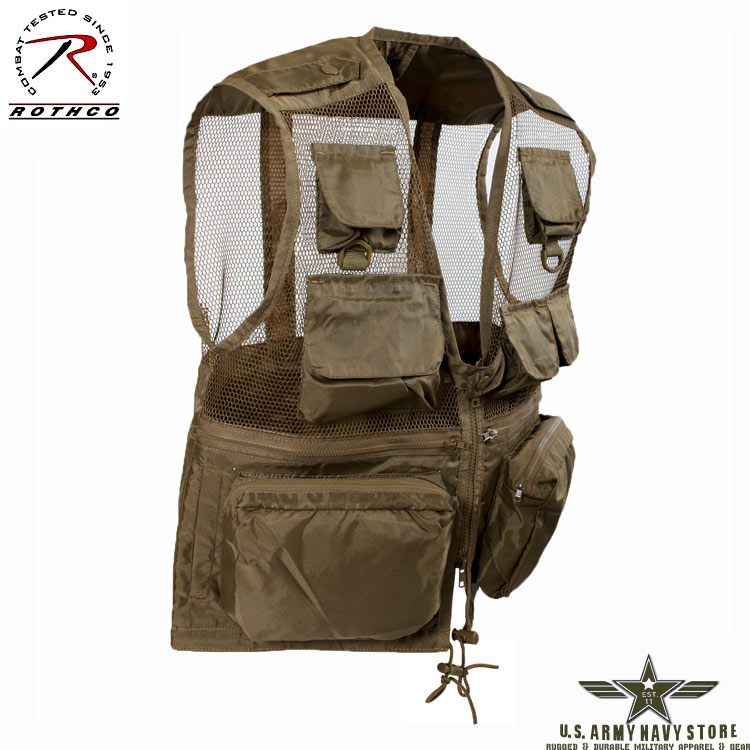 Tactical Recon Vest - Coyote Brown