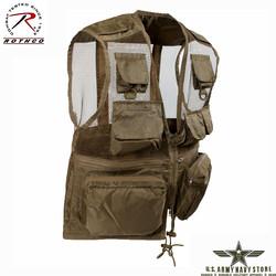 Tactical Recon Vest - Coyote Brown