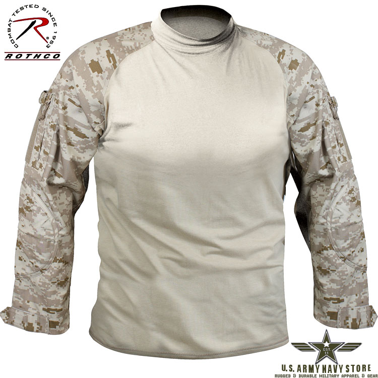Military Combat Shirt Desert Digital