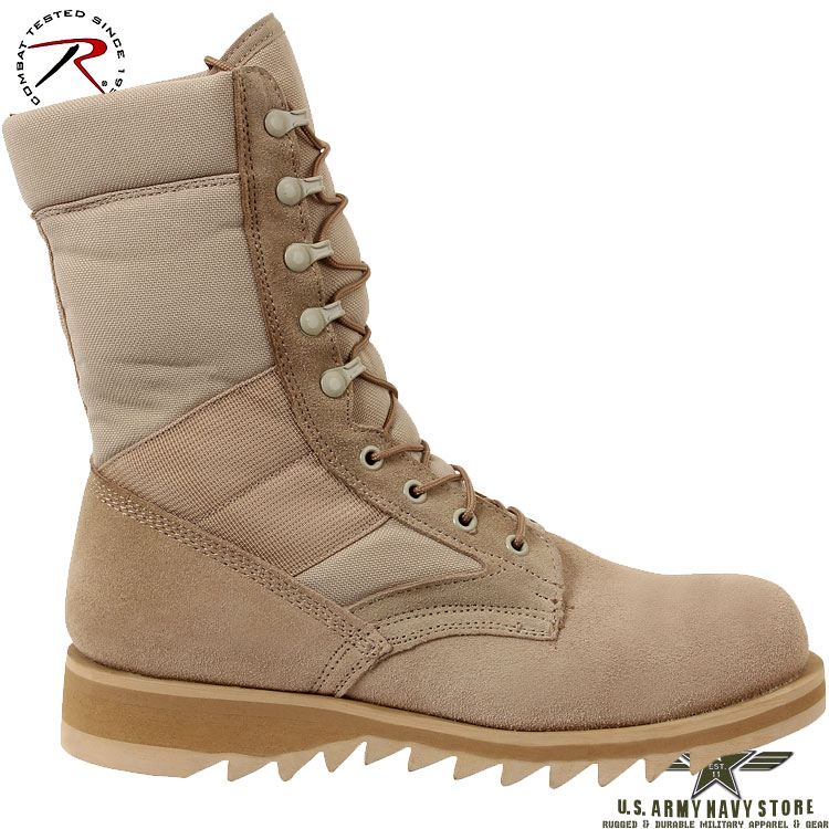 Ripple Sole Jungle Boot - Desert Tan
