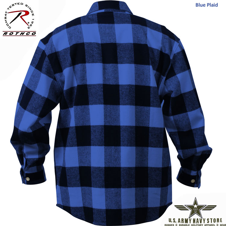 Extra Heavyweight Flannel Shirt